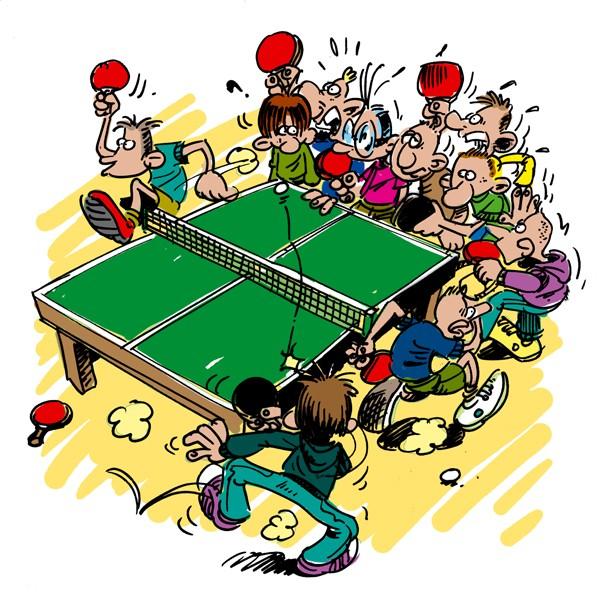 Tournoi de tennis de table le 5 janvier 2013 les enfants - Tournoi tennis de table ile de france ...